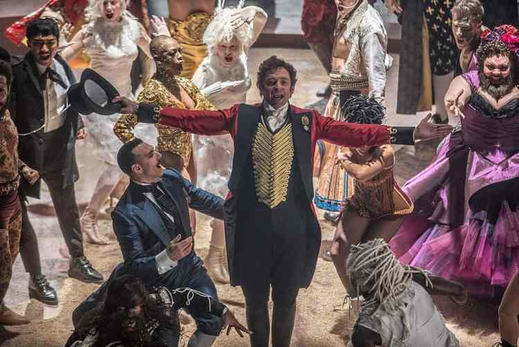 "Bild aus dem Film ""Greatest Showman"""