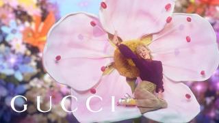 Screenshot aus der GUCCI Flora Gorgeous Gardenia Werbung