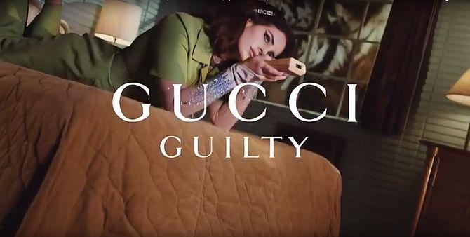 Screenshot aus Gucci Guilty Werbung