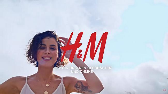 H&M Werbung mit Lena