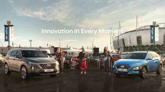 Screenshot aus Hyundai Werbung