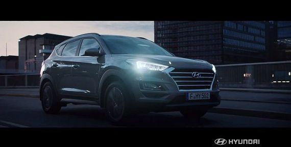 Screenshot aus Hyundai Tucson Werbung