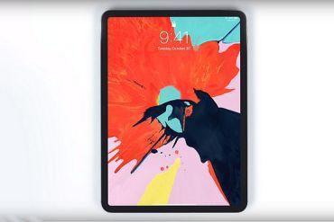 Screenshot aus Apple iPad Werbung