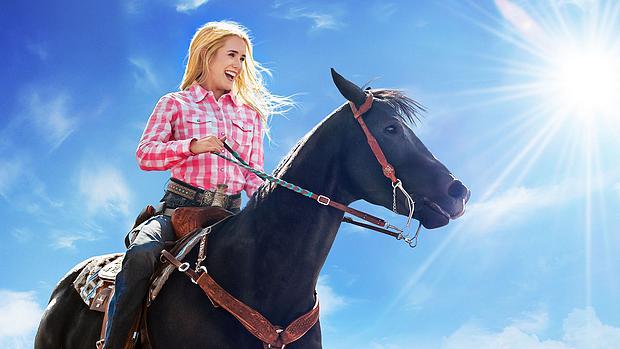Laufen. Reiten. Rodeo. Netflix-Poster