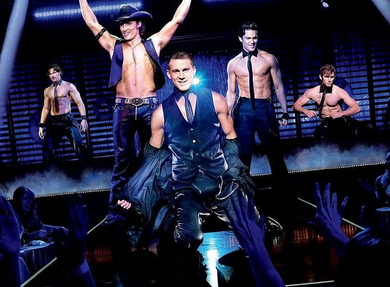 Filmposter Magic Mike