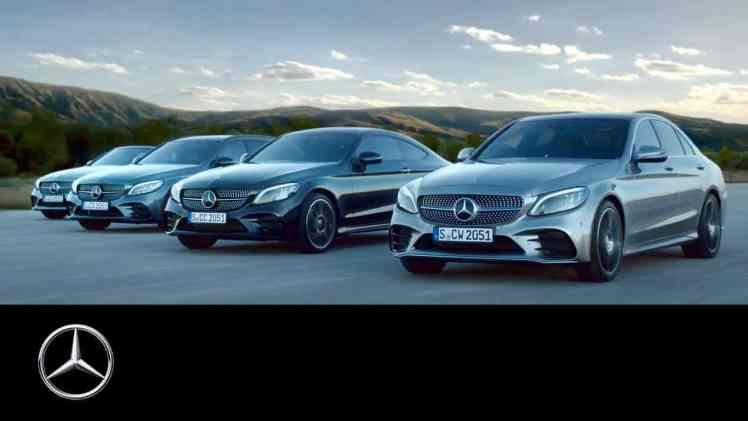 Screenshot aus Mercedes-Benz C-Klasse Werbung