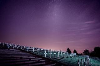 Friedhof in der Nacht