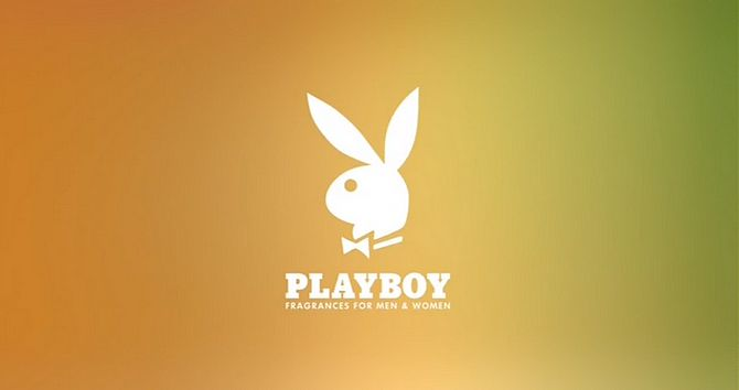 Screenshot aus Playboy Werbung