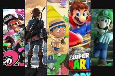 Exklusive Nintendo Switch Spiele