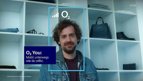 Screenshot aus der O2 Werbung