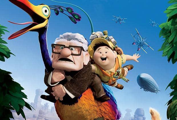 Pixar-Film Oben Poster