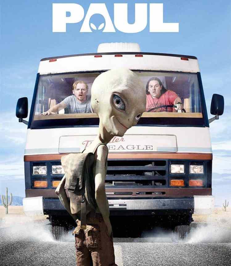 Filmposter: Paul - Ein Alien auf der Flucht