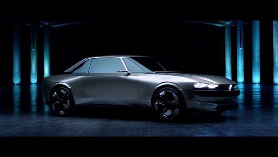 Screenshot aus Peugeot E-Legend Werbung