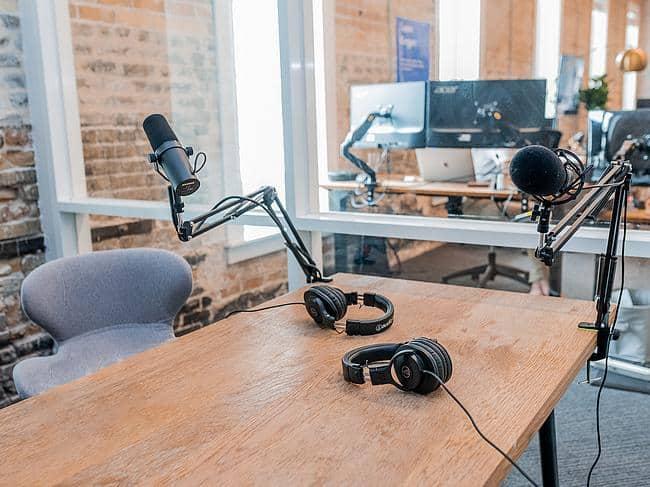 Podcast-Raum