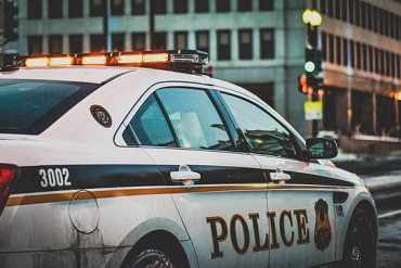 US Polizeiauto