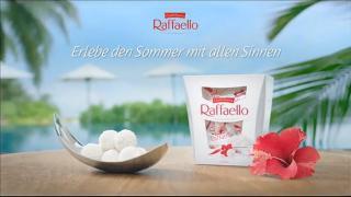 Screenshot aus der Raffaello Werbung