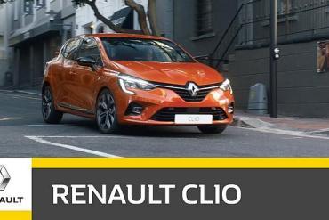 Screenshot aus Renault Clio Werbung