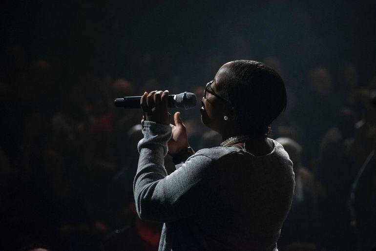 R&B Sängerin