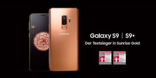 Screenshot aus Galaxy S9 Werbung