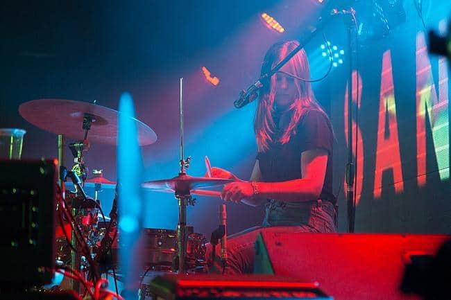 Schlagzeugerin