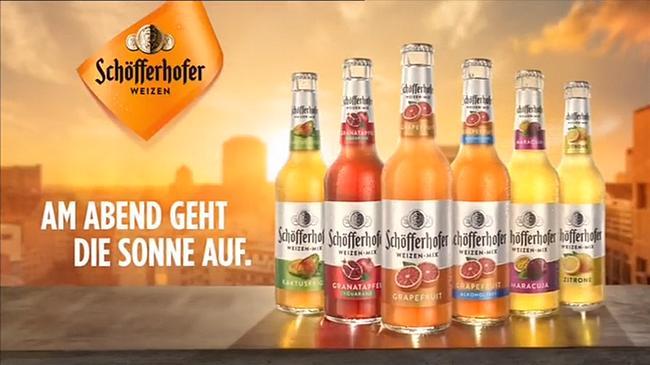 Screenshot aus der Schöfferhofer Weizen Werbung