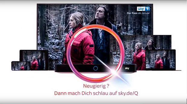 Sky Q Werbung Schauspielerin