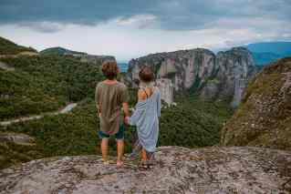 Paar im Urlaub