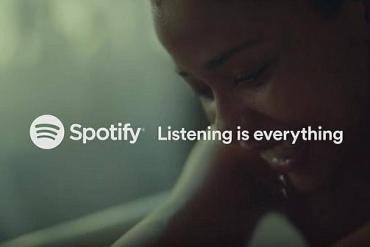 Screenshot aus der Spotify Werbung