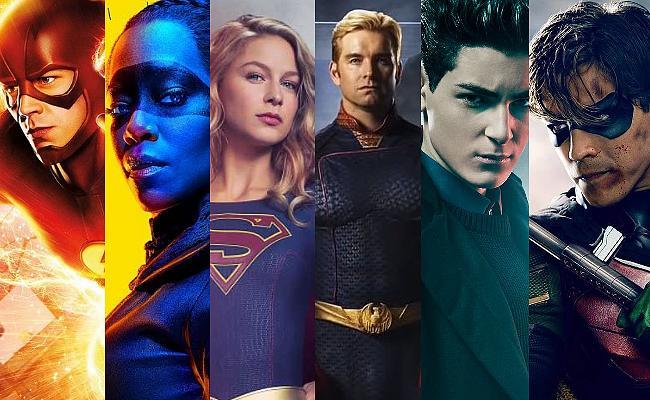 Superhelden Serien Bild