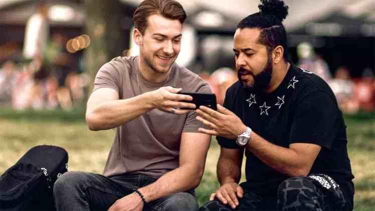 Screenshot aus Telekom Magenta Eins Werbung
