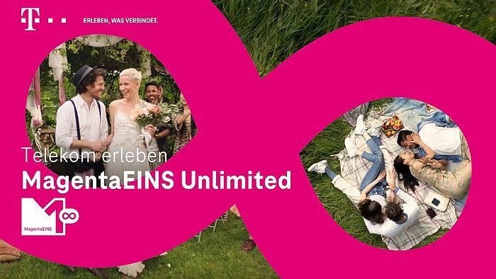 Screenshot aus der Telekom Magenta Eins Werbung