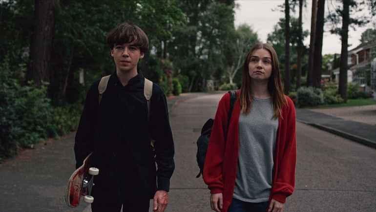 """Bild aus der Netflix-Serie """"The End of the F***ing World"""