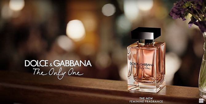 Screenshot aus Dolce & Gabbana The Only One Werbung