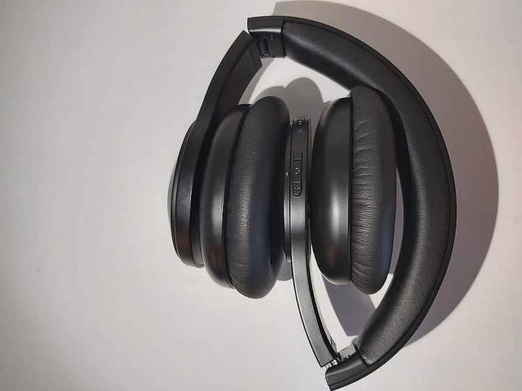 Tribit QuietPlus Kopfhörer Draufsicht
