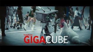 Screenshot aus Vodafone GigaCube 5g Werbung