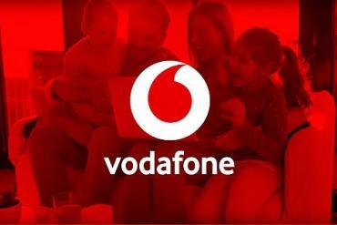 Screenshot aus Vodafone Werbung