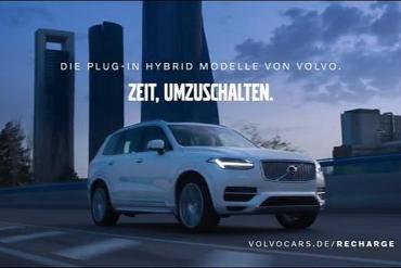 Bild aus der Volvo Werbung 2020