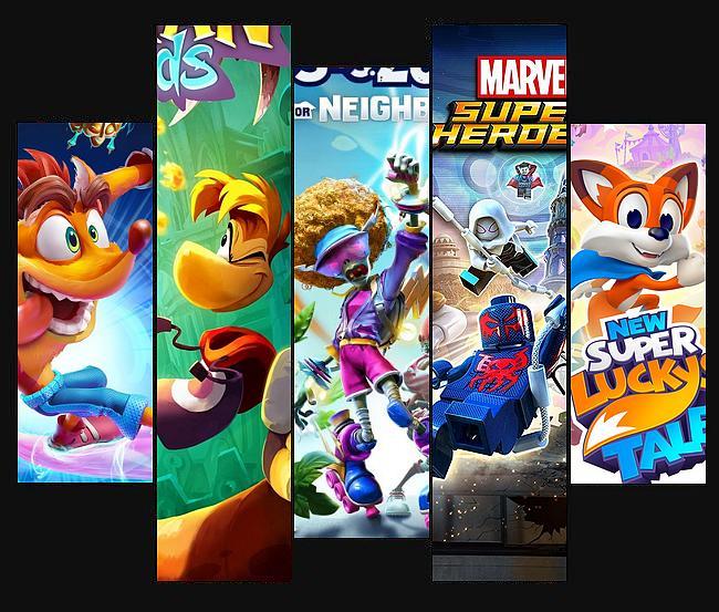 Die besten Spiele für Kinder für die Xbox