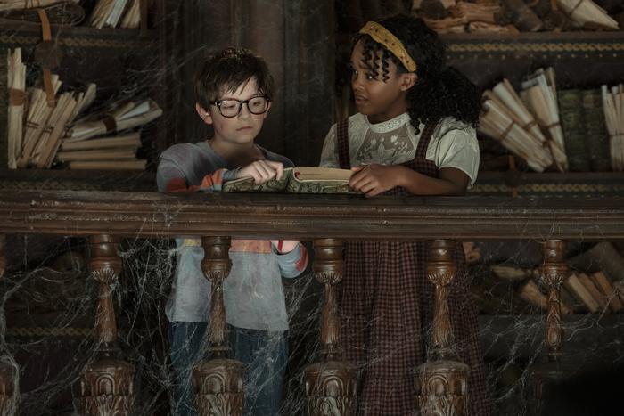 Alex und Yazmin in Nightbooks