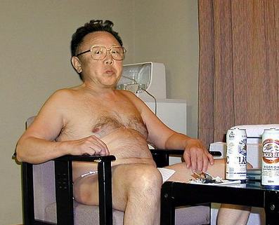 Kim Jong Il naked