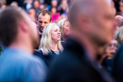 Kim Larsen & Kjukken, Kim Larsen, Amfiscenen
