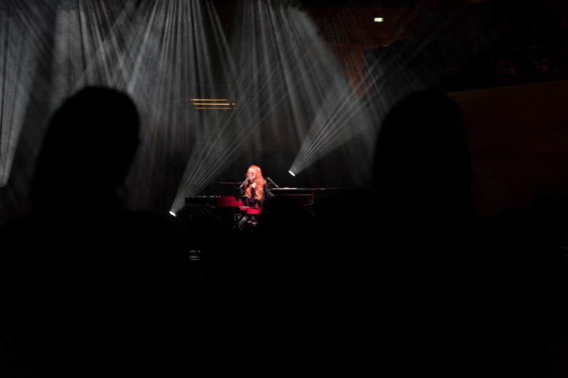 Tori Amos, Koncertsalen