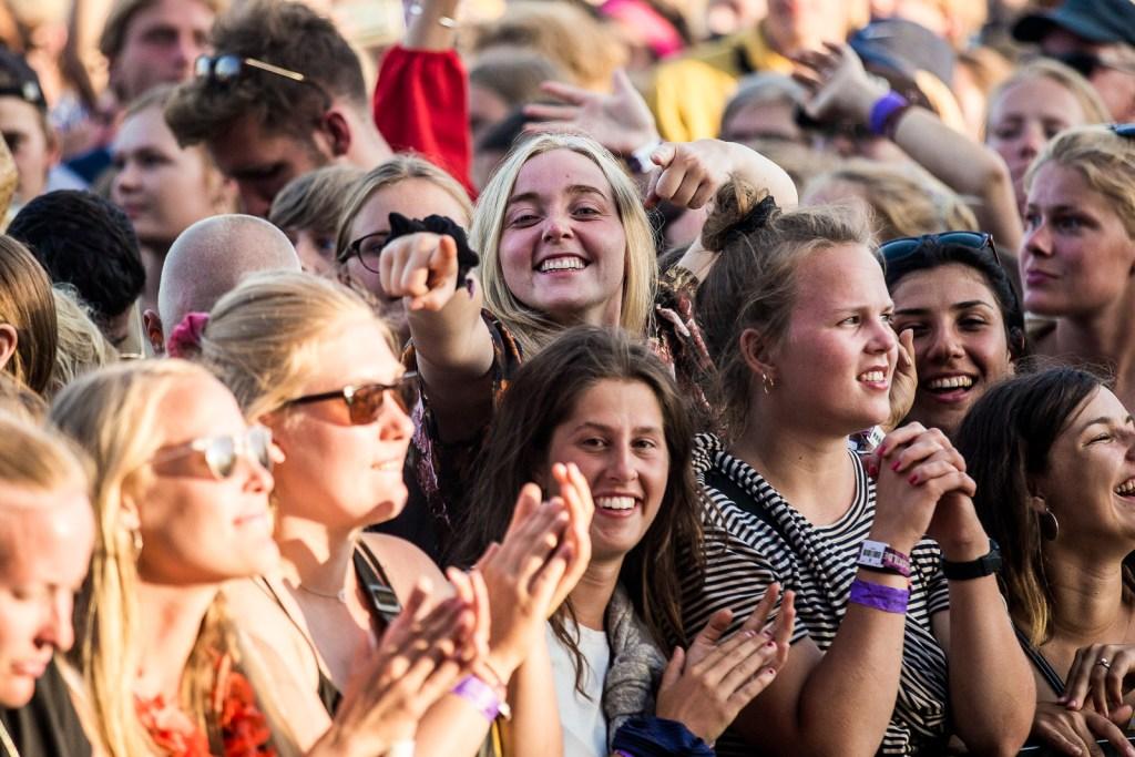 Dua Lipa, Roskilde Festival, RF18, Orange
