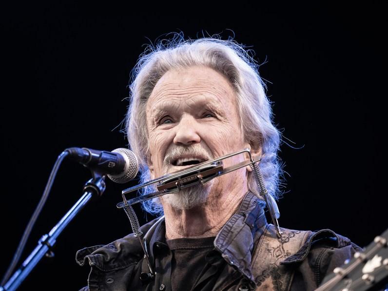Kris Kristofferson, Heartland Festival, Greenfield Stage