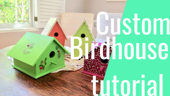 #DIY #howto #endofyear #teachergifts #ideas #gifts #birdhouse #unique #personal | Poplolly co.