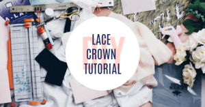 #headband #tutorial #diy #howto #lacecrown | Poplolly co.