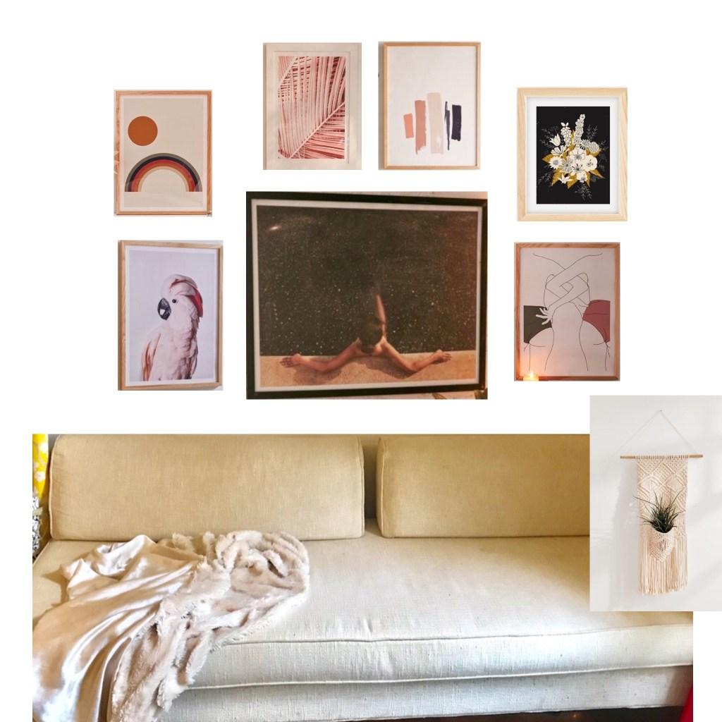 #officedecorideas #officedecor #blush #pinkoffice #summerofficerefresh #moodypink | Poplolly co