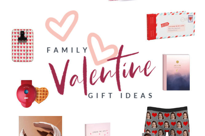 Family Valentine Gift Ideas featured image | Poplolly co