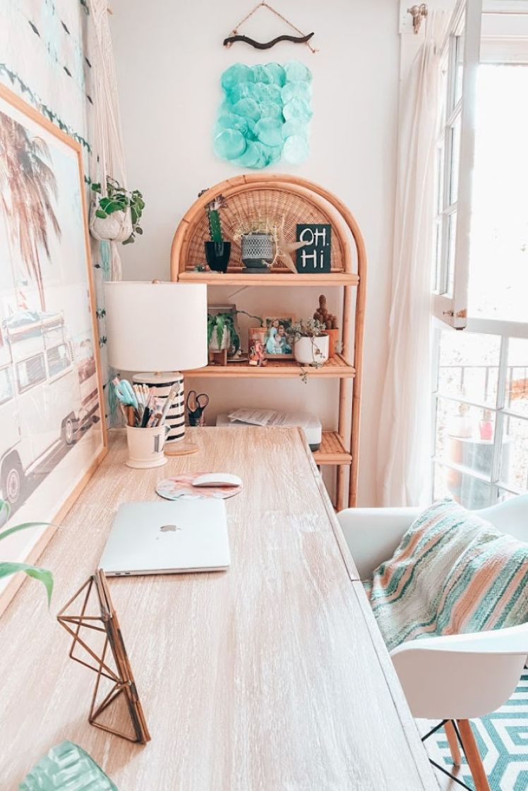 rattan bookshelf | Poplolly co