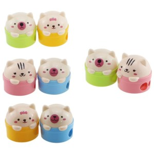 cute amazon animal pencil sharpeners for kids school supplies | Poplolly co